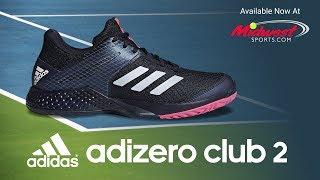 adidas Adizero Club 2.0 Men s Tennis Shoes video 85dabccae