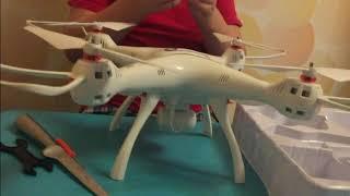 Новый квадрокоптер Syma x8 pro