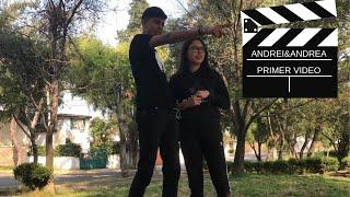 NUESTRO PRIMER VIDEOOOO /ANDREA Y ANDREI