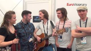 Aarzemnieki - Cake To Bake - Eurovision Song Contest - Latvia 2014 - Interview - 2D