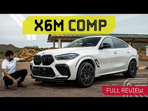 External Review Video vVjAuKUGNVk for BMW X6 M & X6 M Competition Crossover (G06)