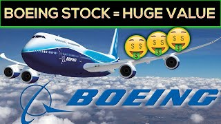 Boeing Stock Analysis (HUGE VALUE Opportunity?) Chart Says YES!