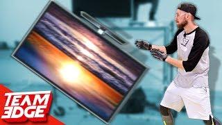 TV Flip | HUGE Flat Screen TV!!