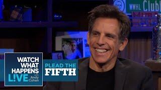 Ben Stiller On Dating Brandi Glanville From RHOBH | Plead the Fifth | WWHL - Video Youtube