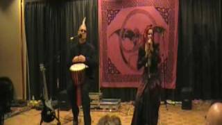 "Faith and the Muse, ""Iago's Demise"" acoustic, at Dragon*Con 2009"