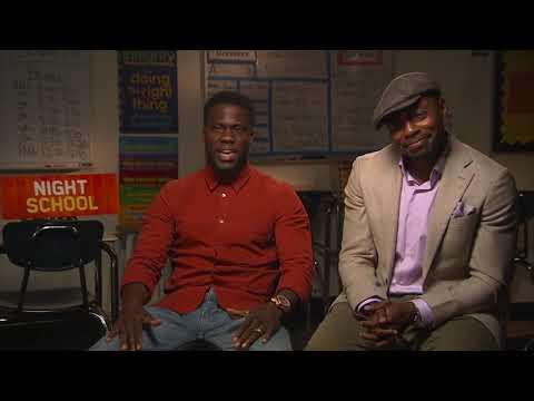 Kevin Hart talks 'Night School,' running Chicago marathon (видео)