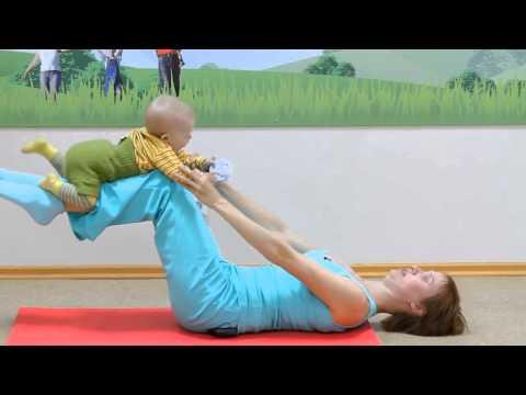 Фитнес для молодых мам: как заниматься с маленьким ребенком