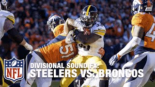 'Sound FX': Steelers vs. Broncos (Divisional) | NFL
