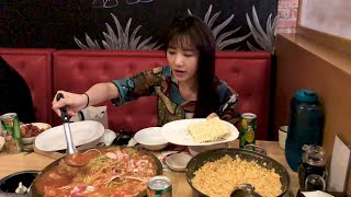 Hari Won - Siêu Ham Ăn - Mì Hàn Quốc Budae Jjigae