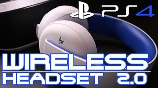 Playstation Wireless Stereo Headset 2.0 PS4, PS3, PSVita Unboxing German Deutsch