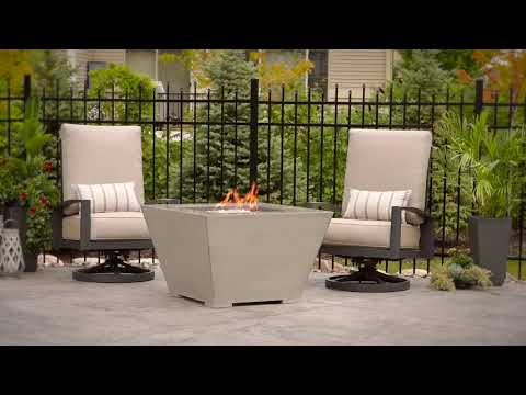 Cove 2424 Gas Fire Pit Table by The Outdoor GreatRoom Company