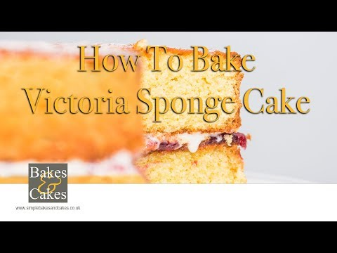 How to make a Victoria sponge: Video recipe