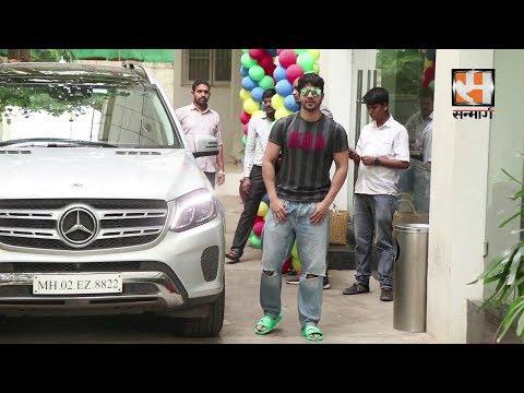 Varun Dhavan Spotted At Sunny Super Sound For Dubbing Film Street Dancer