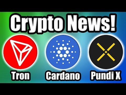 BREAKING: Charles Hoskinson Breaks w/ the Cardano Foundation! Plus Tron and Pundi X News! (видео)