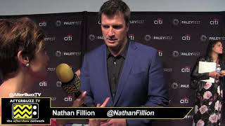 "Nathan Fillion at PaleyFest for ""The Rookie"""