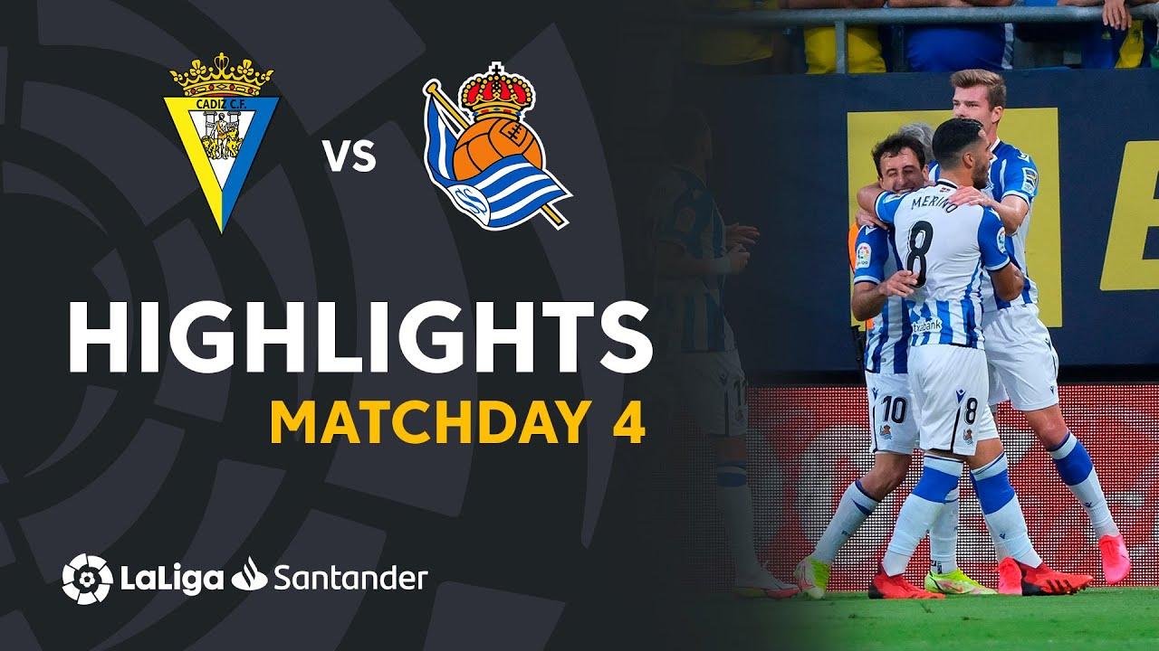 Resumen de Cádiz CF vs Real Sociedad (0-2)
