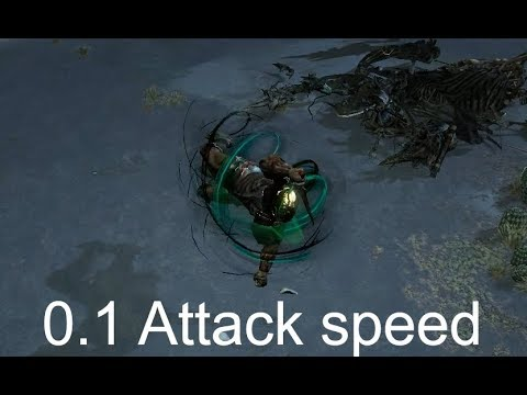 Path of Exile – Slowest attack speed