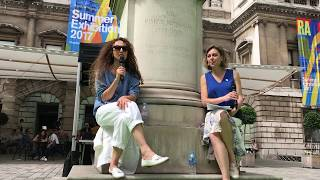 Sophie Ryder talks at the Royal Academy