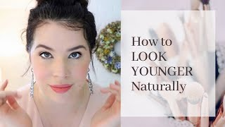 Tips for Looking Youthful Naturally || Easy Anti-Aging Habits ♡ MissJustinaMarie
