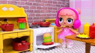 Куклы ЛОЛ СМЕШНЫЕ ВИДЕО 9 Мультики #Игрушки Сюрпризы LOL Видео для Детей с Лалалупси Вероника