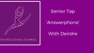 Senior Tap 'Answerphone' with Deirdre