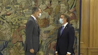 Audiencia a D. Alberto Núñez Feijóo, Presidente de la Xunta de Galicia
