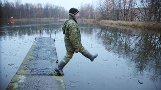 Костюм поплавок на зимнюю рыбалку