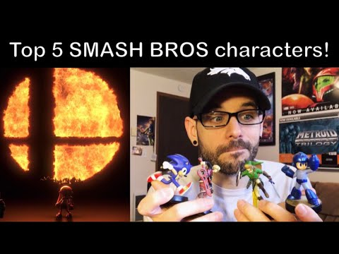 Top 5 Super Smash Bros Nintendo Switch characters! | Ro2R