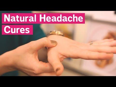 סרטון הדגמה ל-3 שיטות טבעיות להרגעת כאבי ראש