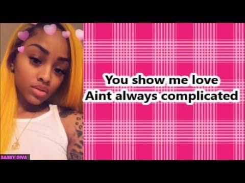 Lil Bibby ft Ann Marie - Complicated (Lyrics)