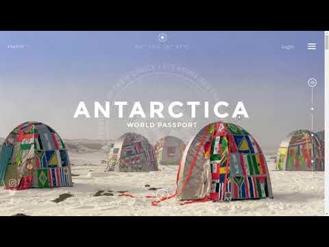 Паспорт гражданина Антарктиды, дающий право посещать более 100 стран без получения визы