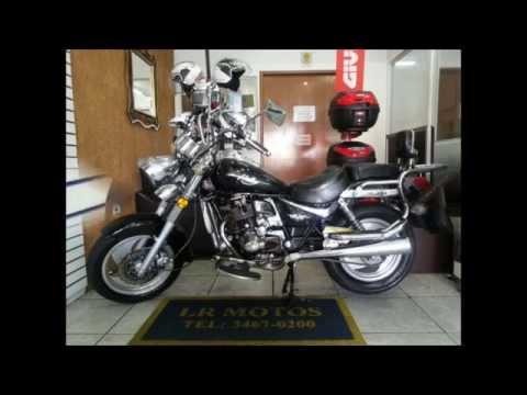 LR Motos - Lavagem de Moto Especializada da MVK Halley 200 Preta - 6563