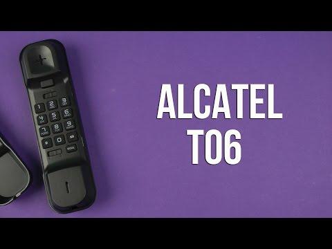 Распаковка Alcatel T06