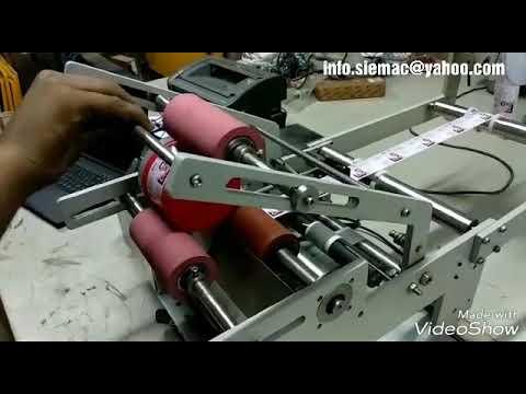 Semi Automatic Bottle Labeling Machine