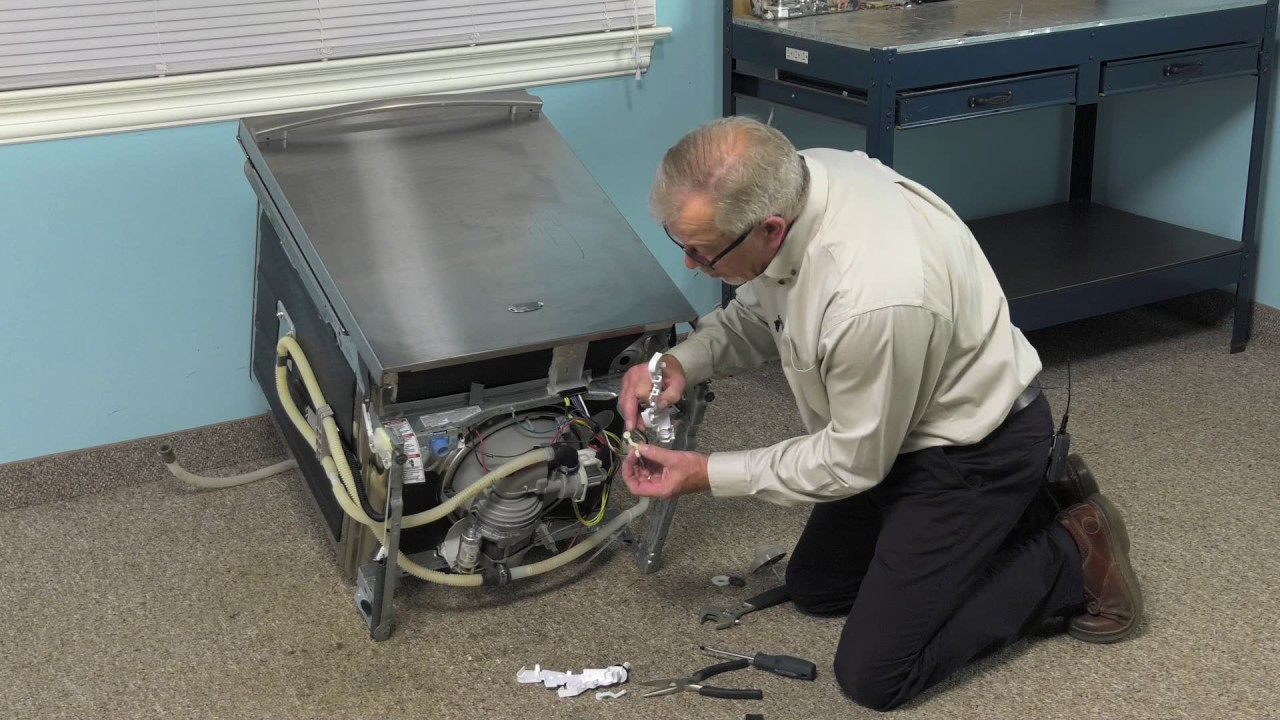 Replacing your KitchenAid Dishwasher Float Switch Kit