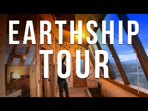 Earthship Tour – Available for Rental!
