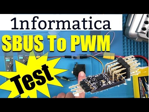 SBUS To PWM Decoder New Life For An Old Model!
