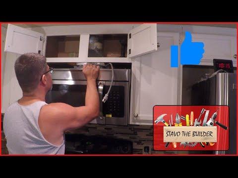 Como Instalar un Microondas - Microwave installation