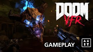 Twenty Minutes Of Doom VFR (PC HTC Vive) - Gameplay