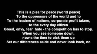 Anti Flag - 911 for Peace Lyrics