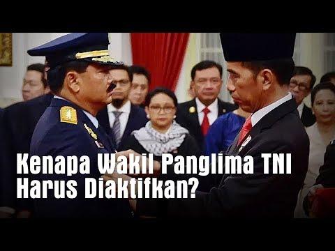Kenapa Wakil Panglima TNI Harus Diaktifkan?