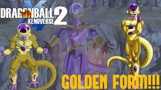Dragon Ball Xenoverse 2 - True Golden Awakening! [DBXV2 PS4 GAMEPLAY]
