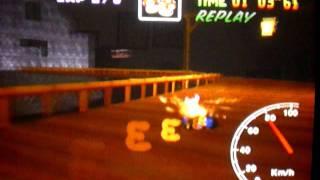 MK64 - former world record on Banshee Boardwalk - 2'05''27 (NTSC: 1'44''18)