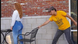 Chair Pulling Prank in Memphis!!!