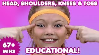 Head Shoulders Knees and Toes | Kids Songs | Nursery Rhymes | Children's Music