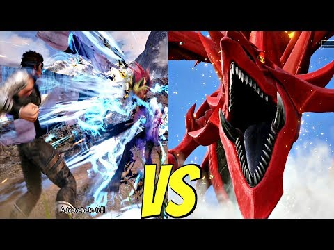 JUMP FORCE - Yugi vs Kenshiro 1vs1 Gameplay