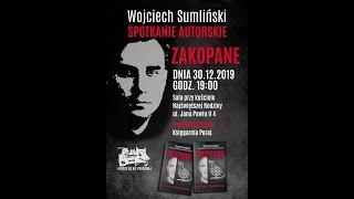 Wojciech Sumliński spotkanie autorskie w Zakopanem 30.12.2019