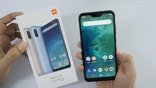 Xiaomi Mi A2 Lite (Redmi 6 Pro) Android One Unboxing & Overview