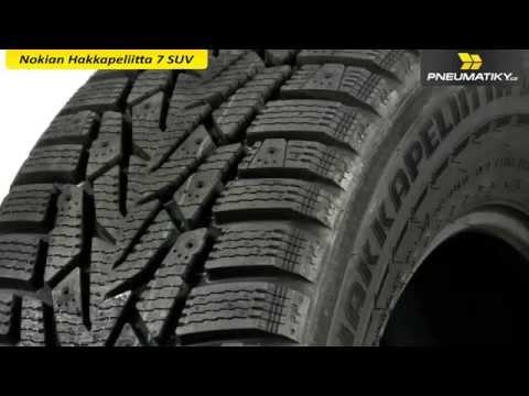 Youtube Nokian Hakkapeliitta 7 SUV 275/55 R19 115 T XL Zimní