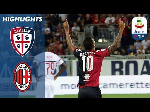 Cagliari 1-1 Milan | Higuaín Opens  Milan Account With Equaliser | Serie A